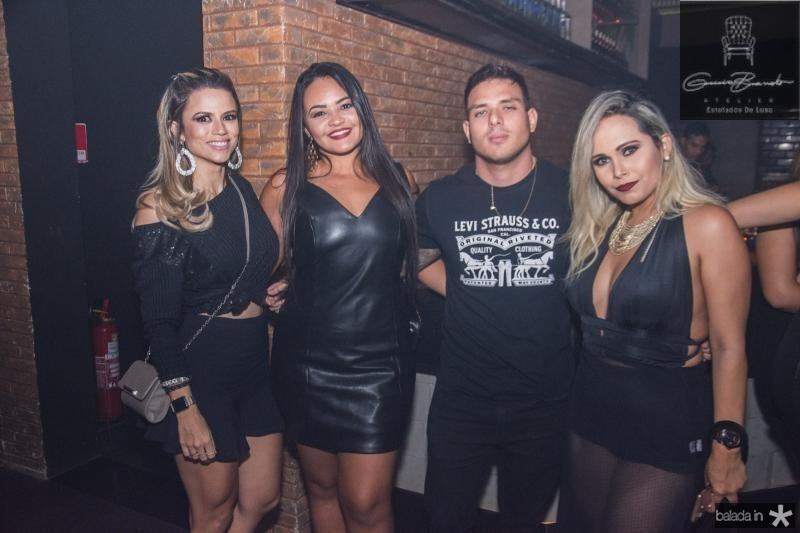 Livia Albuquerque, Ana Pereira, Tales Bastos e Priscila Martins