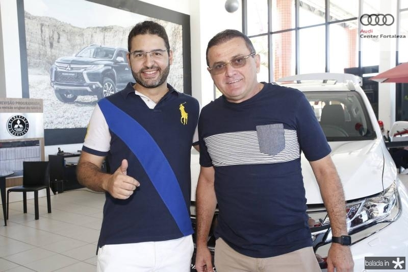 Julio Cesar e Luiz Queiroz