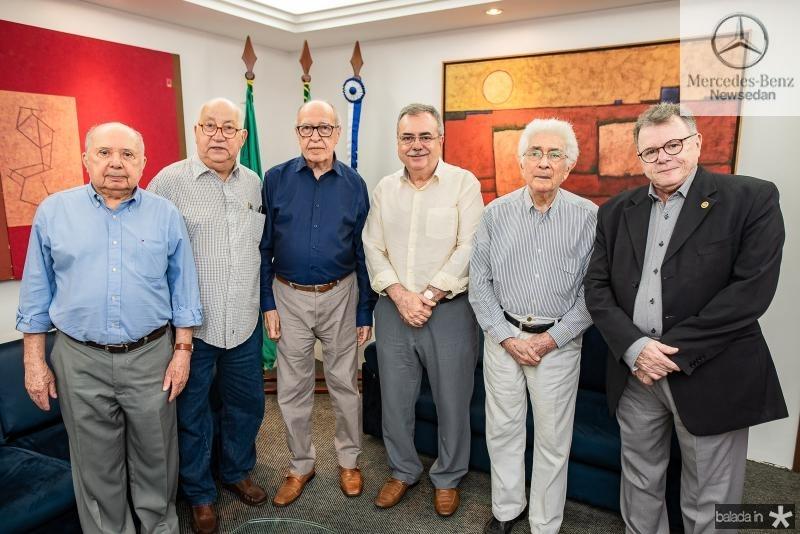 Jeova Lemos, Domingos Linheiro, Lucio Alcantara , Assis cavalcante, Liberal de Castro e Juar Leitao