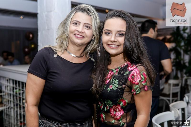 Marlene Bezerra e Ingrid Vasconcelos