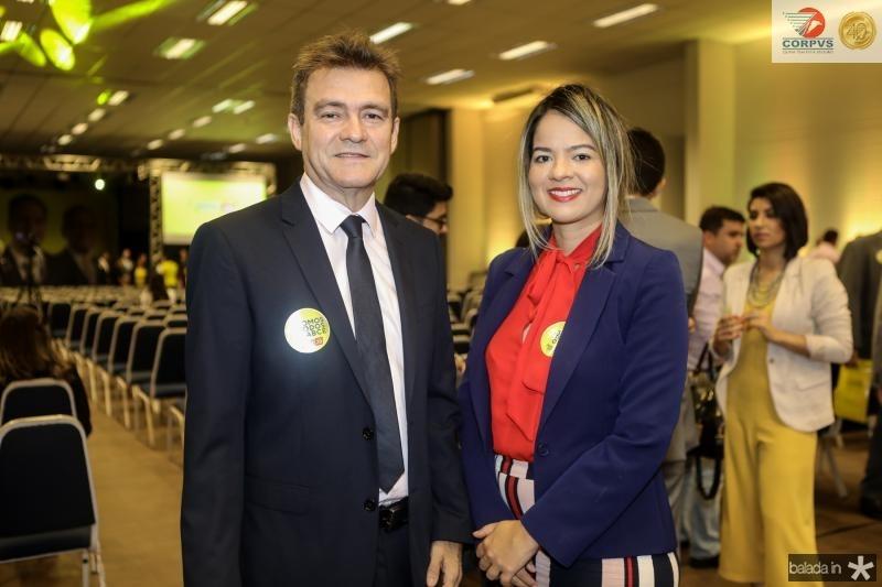 Pedro Alves e Monique Cunha