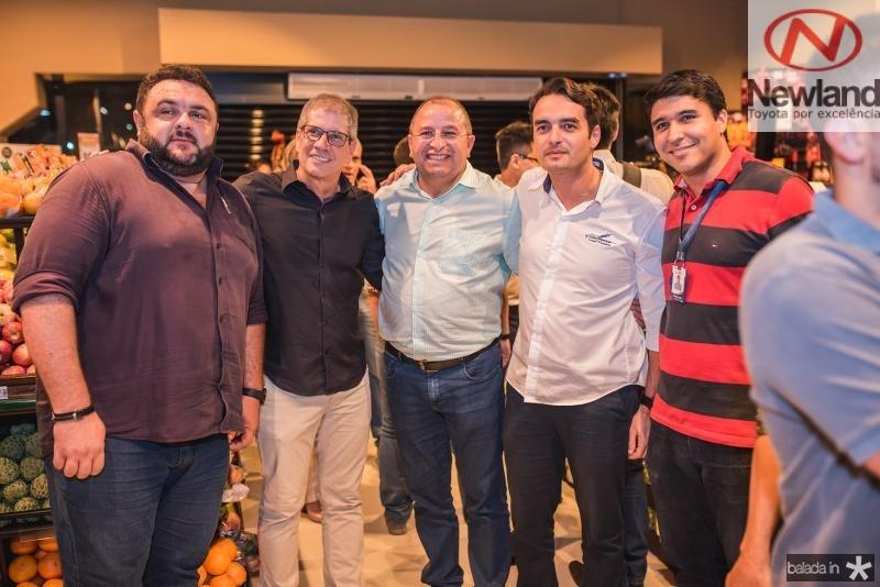 Xinaider Piraquer, Severino Ramalho, Iran Lima, Breno Oliveira e Thiago