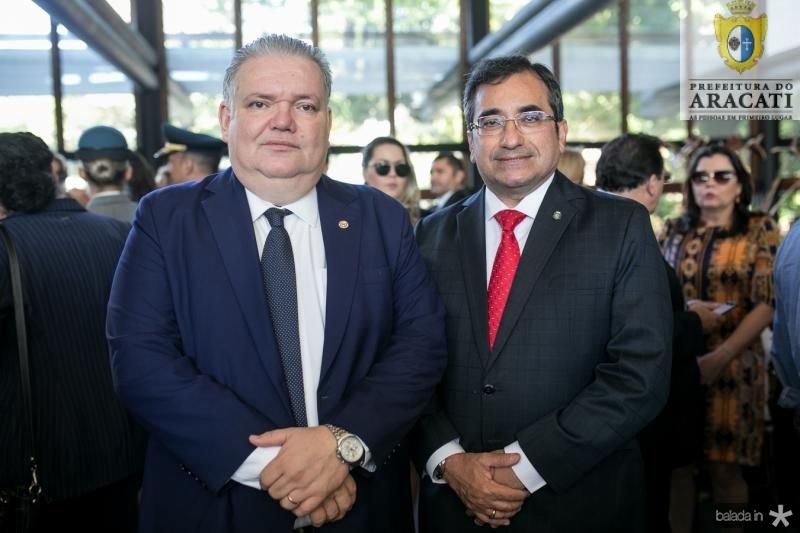 Pedro Jorge Medeiros e Jardson Cruz