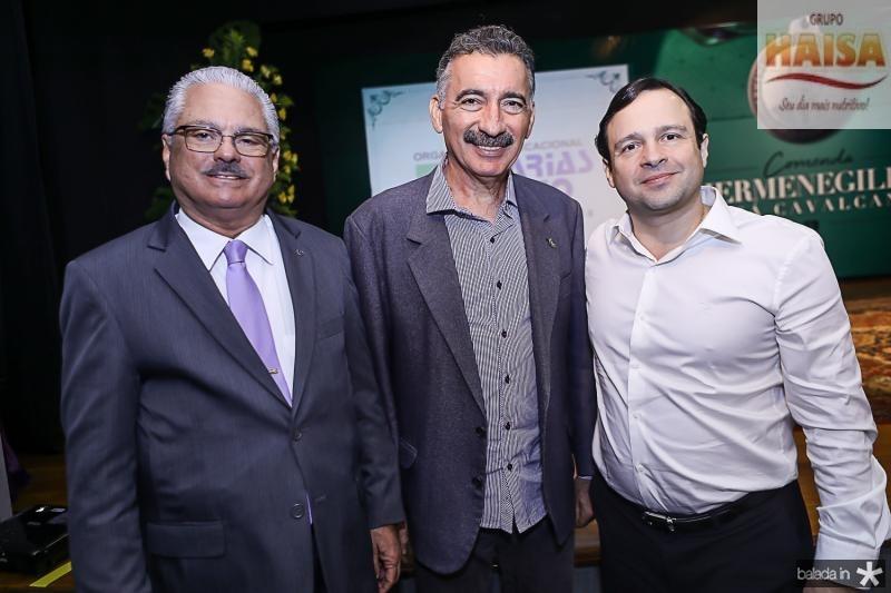 Vitor Frota Pinto, Artur Bruno e Igor Barroso