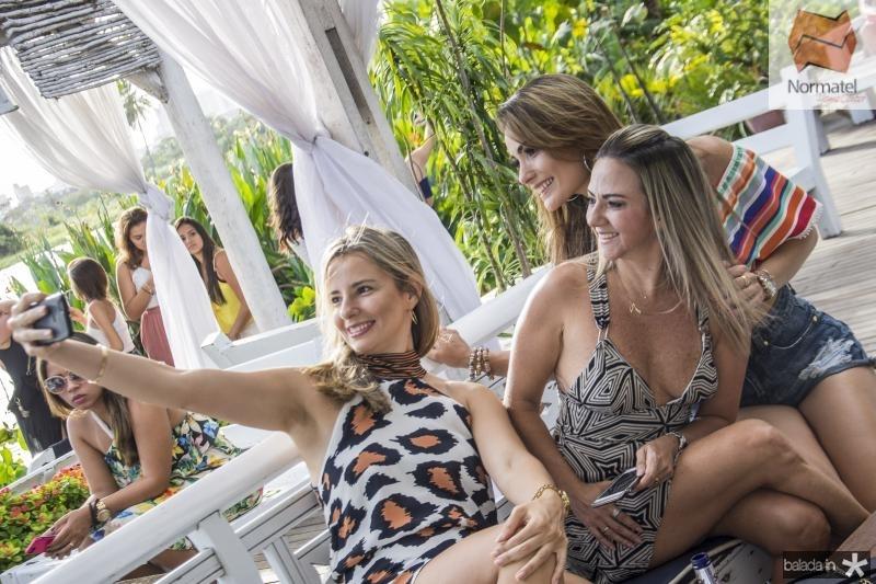 Livia Sousa, Luiziana Teixeira e Livia Sousa