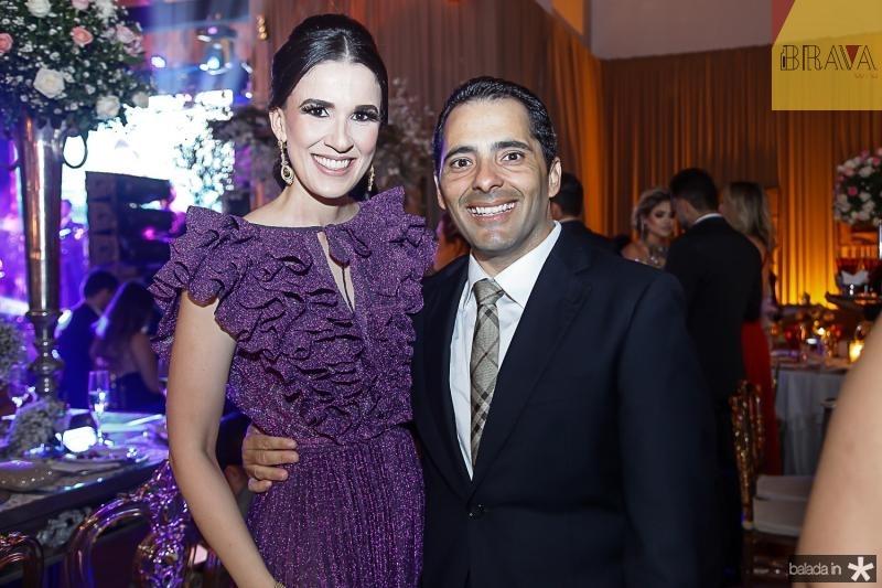 Giuliana Botelho e Atila Fernandes