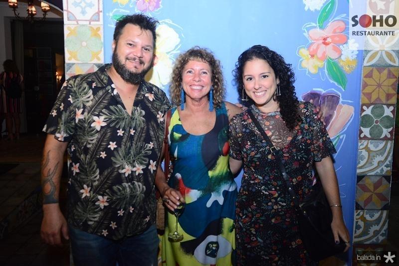 Leo Goncalves, Sandra Montenegro, Dora Coelho