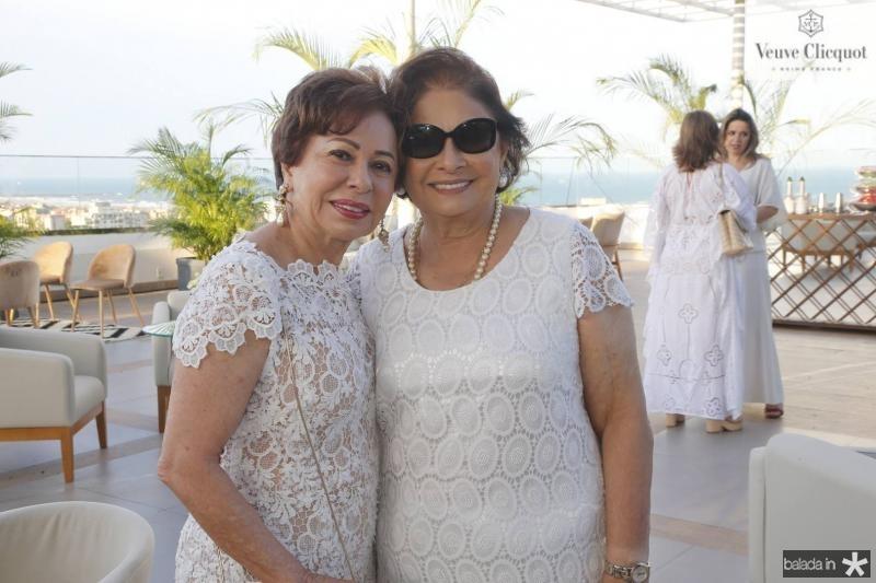 Tania Albuquerque e Auridea Guauberto