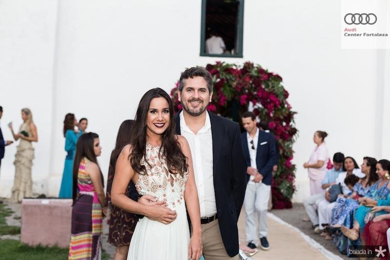 Mariana Paulo e Pablo Santos