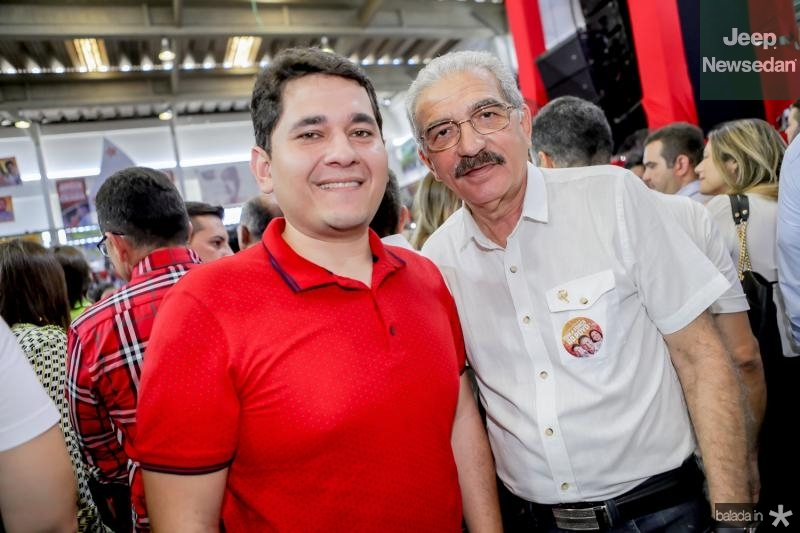 Audic Mota e Walter Cavalcante