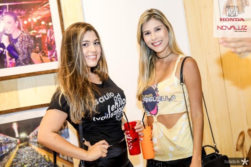 Livia Ximenes e Amanda Vasconcelos