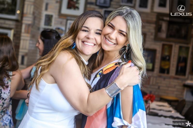 Ana Paula Domene e Jeritza Gurgel