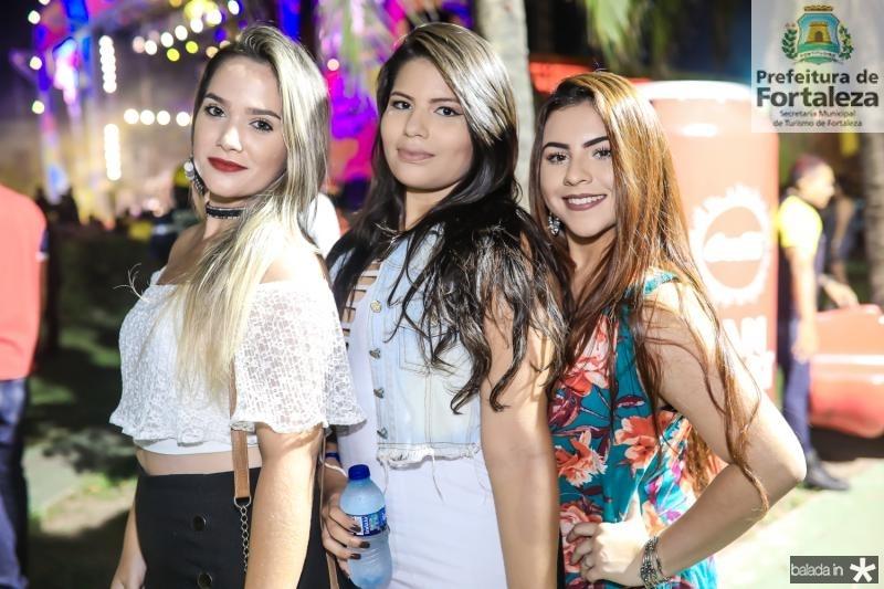 Luana Caula, Raissa Guerra e Karen Suellen