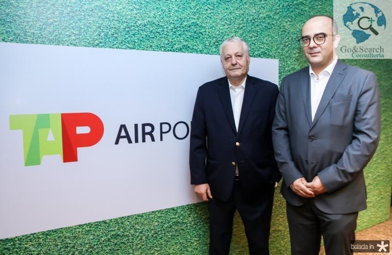Mario Carvalho e Adriano Araujo