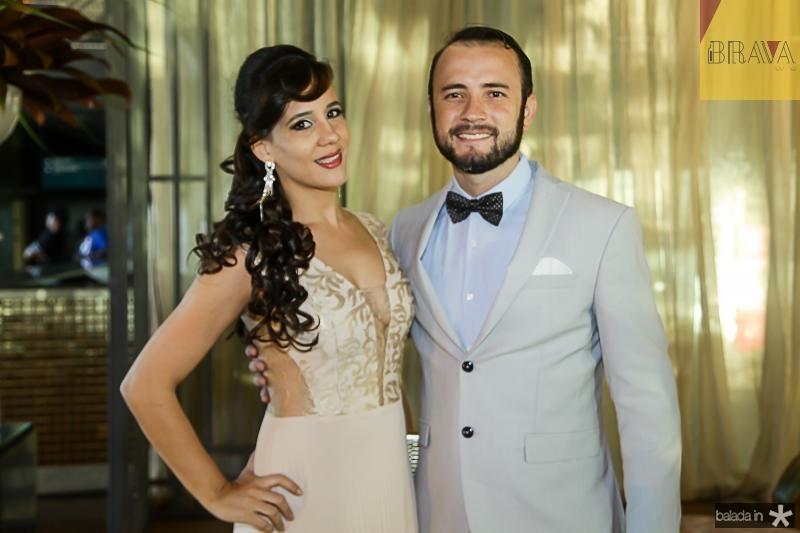 Carla Mendes e Marlon