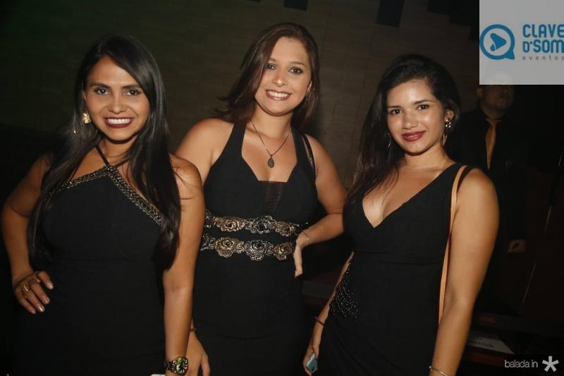 Eliane Souza, Rejane Fernandes e Larissa Barroso