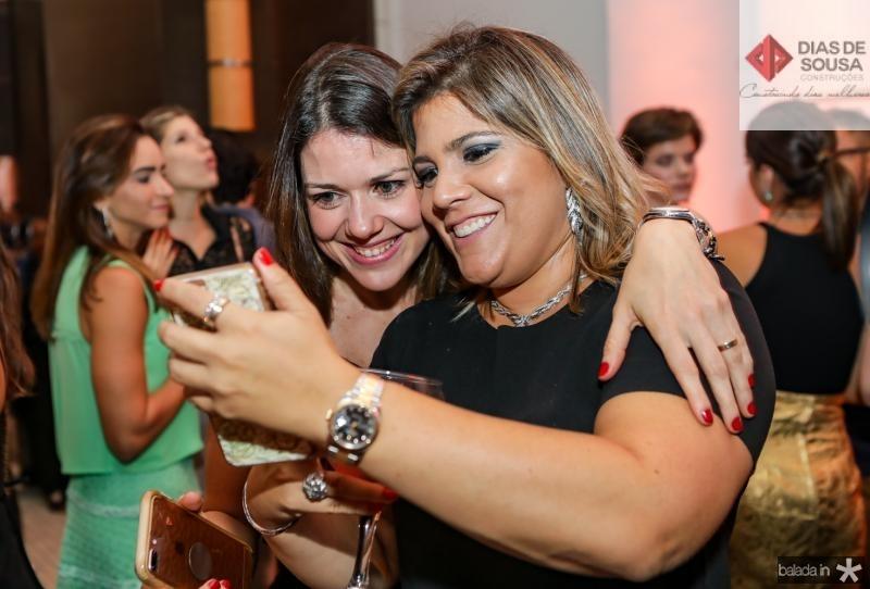 Roberta Peixoto e Gisela Vieira