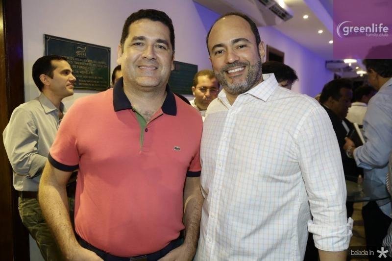 Draurio Pinho e Camilo Barbosa