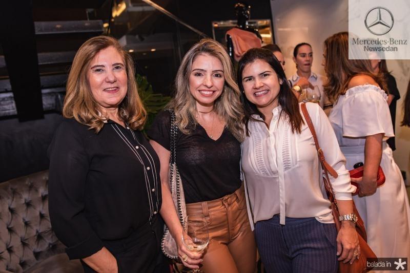 Joria Araripe, Daniele Pinheiro e Ticiana Brigido