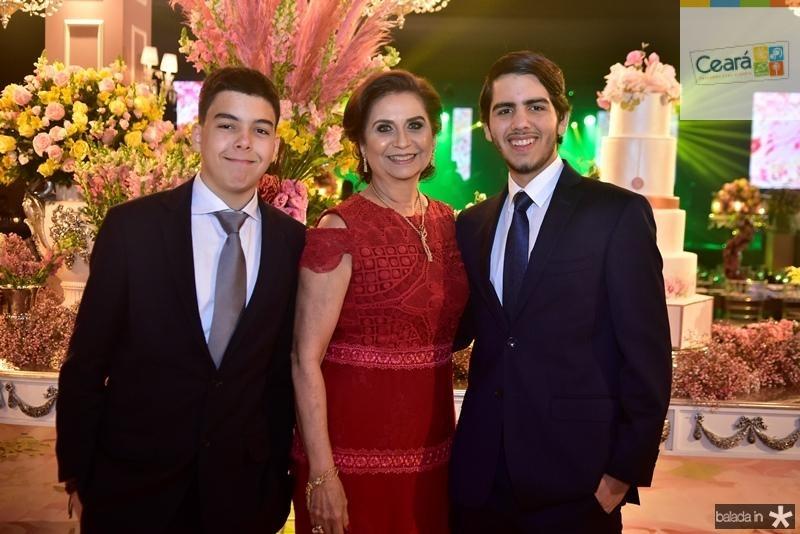 Davi Sobral, Marilena Campos, Orlando Pontes