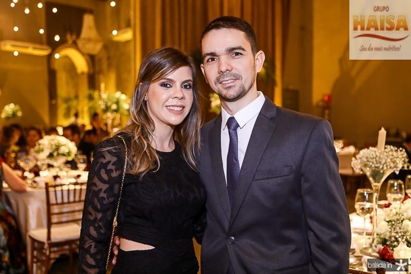Caroline e Carlos Morais