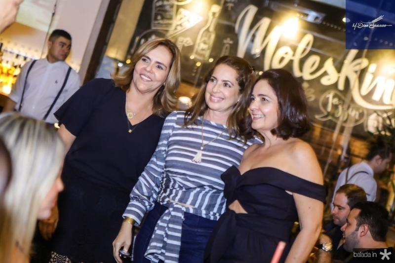 Ailza Ventura, Marcia Andrea e Giana Studart