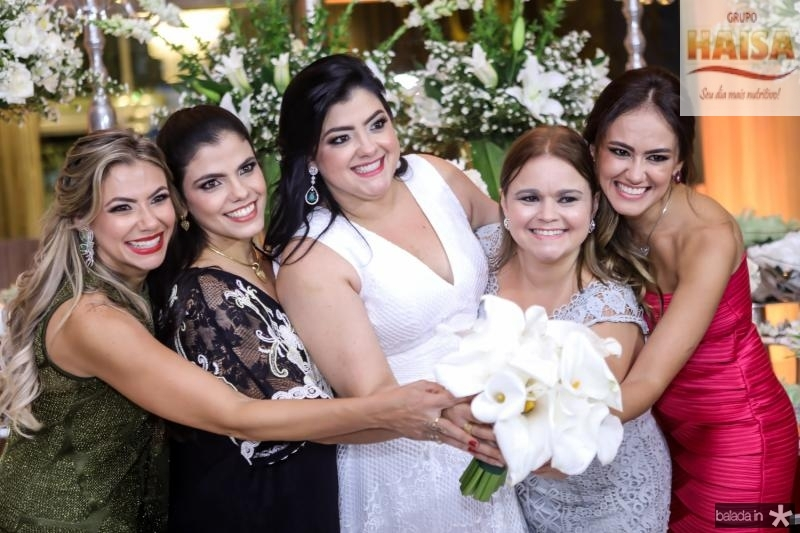 Vanessa, Virginia e Vivi Almada, Karina Parente e Bia Bezerra
