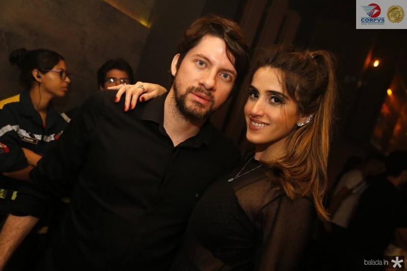 Paulo Moraes e Samilly Capibaribe