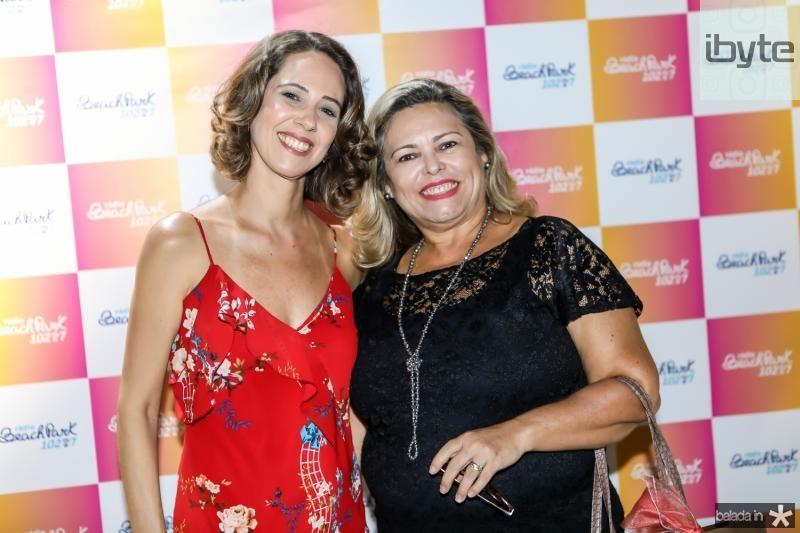 Micheline Olivindo e Marcia Holanda
