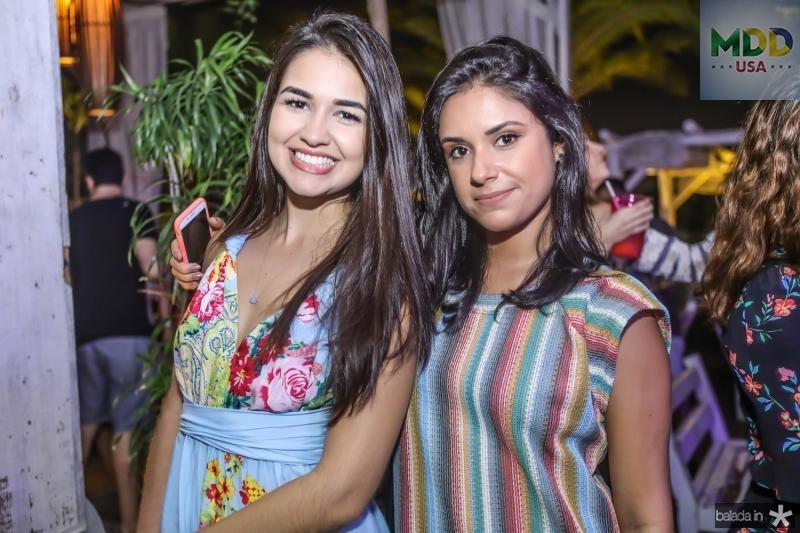 Laura Barioni e Camila Onofre