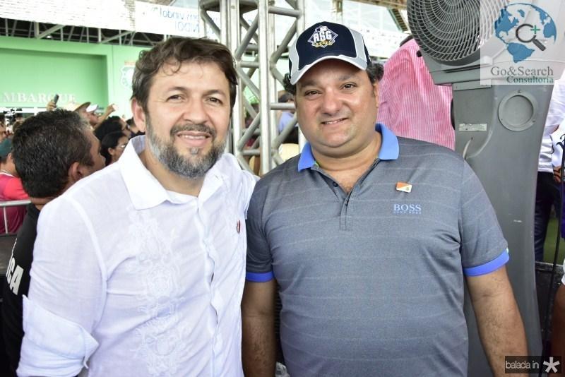 Elcio Batista e Patriolino Dias