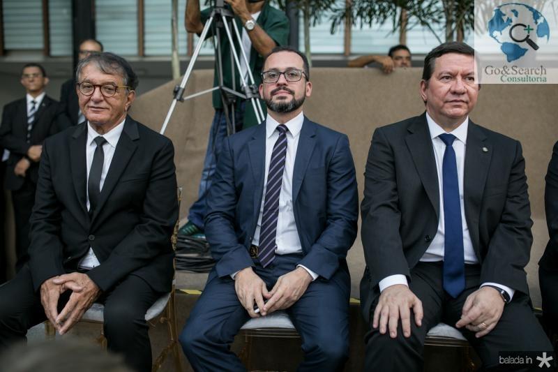 Arialdo Pinho, Andre Costa e Lucio Ferreira Gomes