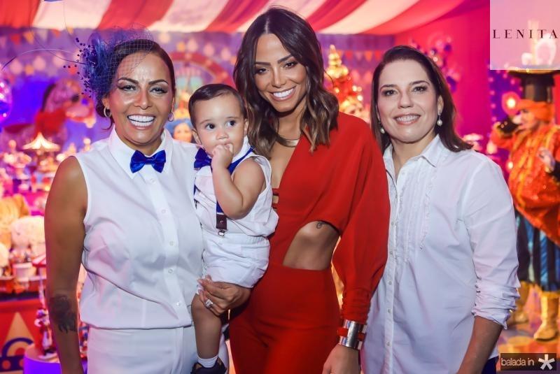 Gil e Bento Santos, Fernanda Sena e Denise Bezerra