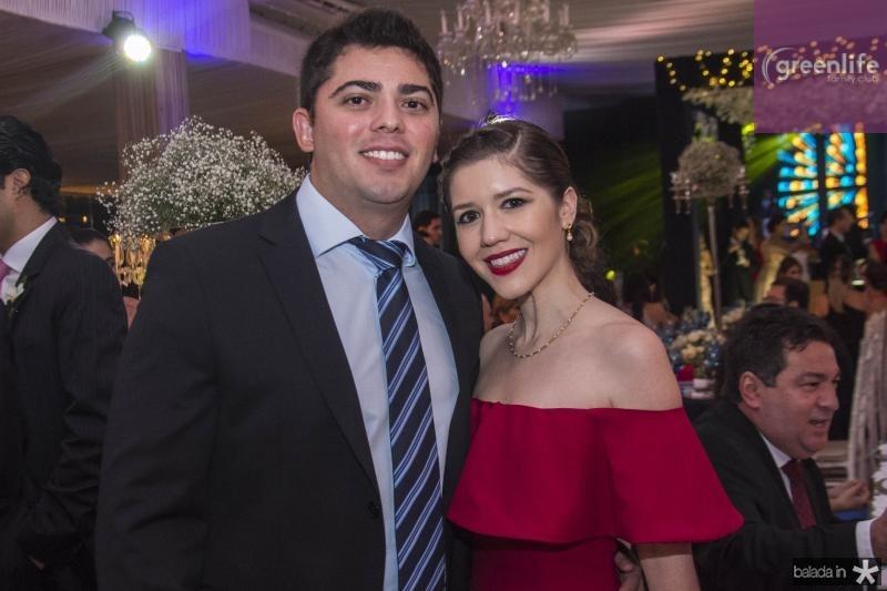 Diego Alencar e Renata Carvalho