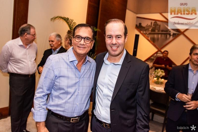 Beto Studart e Cesar Ribeiro