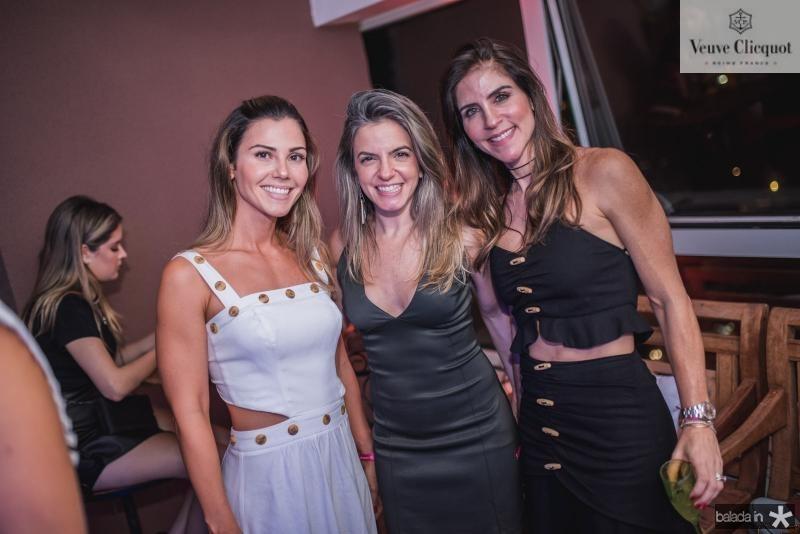 Angela Martan, Mirela Magalhaes e Raquel Juca