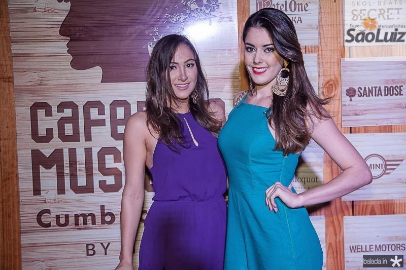 Barbara Araripe e Jessica Campos