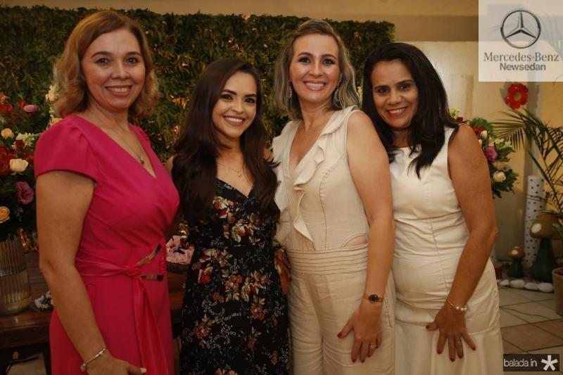 Conceicao Marques, Fernanda Angelim, Alexsandra Macedo e Raimunda Horizonte