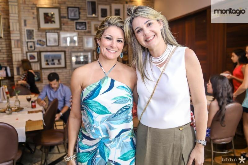 Tatiana Luna e Micheline Bezerra