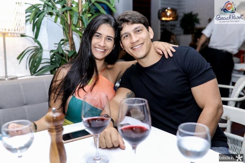 Lorena Damaceno e Jose Neto