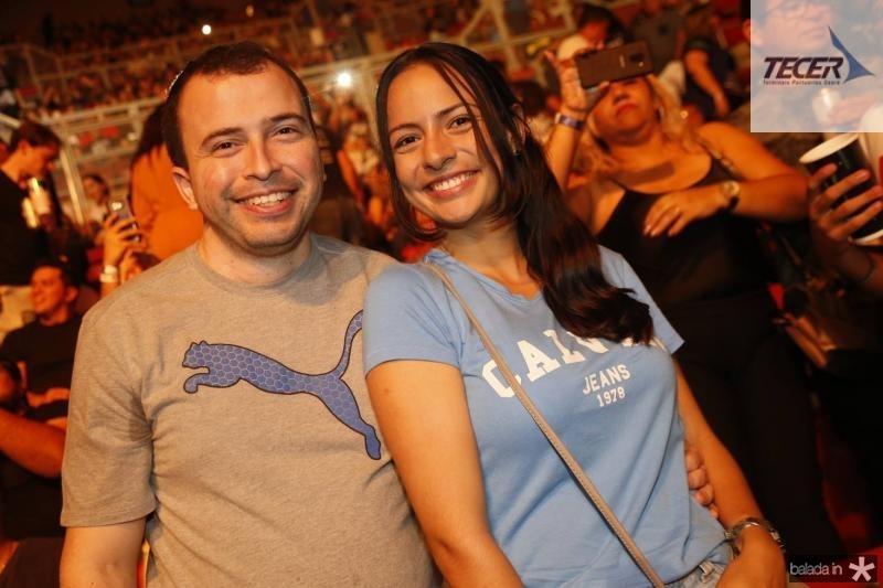 Danilo Leal e Evanice Duarte