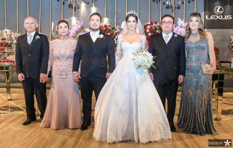 Antonio Batista, Fatima e Kelvin Botelho, Manoella e Manoel Linhares, Paula Frota