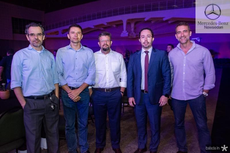 Rodrigo Por Deus, Fabio Gondim, Andre Machado, Eduardo Castelo e Marcelo Vieira