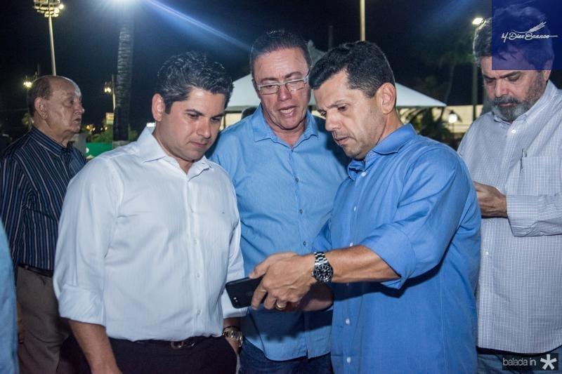 Pompeu Vasconcelos, Darlan Leite e Erick Vasconcelos