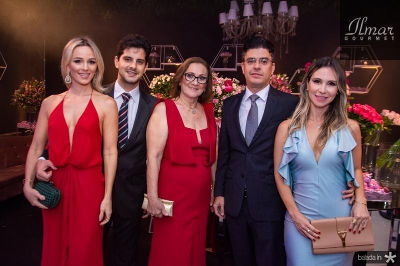 Tassia Ferreira, Fernanda Vasconcelos, Andre Bezerra Menezes e Paula Bezerra de Menezes