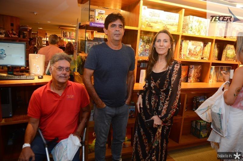 Claudio Costa,Nilo Batista, Bernadete Batista