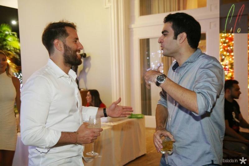 Rodrigo Frota e Rodrigo Nogueira