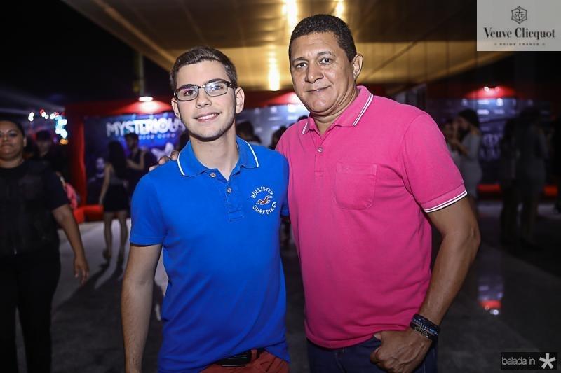 Davi Sales e Adalberto Santos