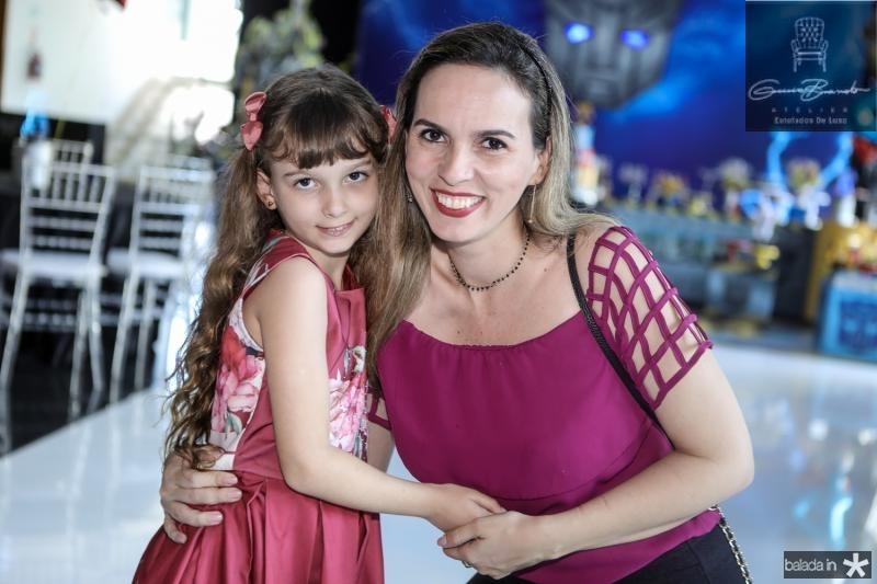Cecilia Borges e Daniele Campos