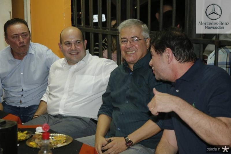 Darlan Leite, Roberto Claudio, PC Noroes e Cid Gomes 1